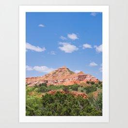 Texas Canyon 3 Art Print