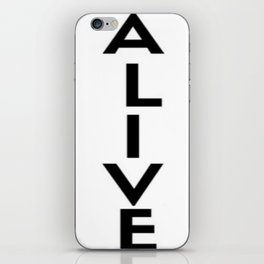 Alive iPhone Skin