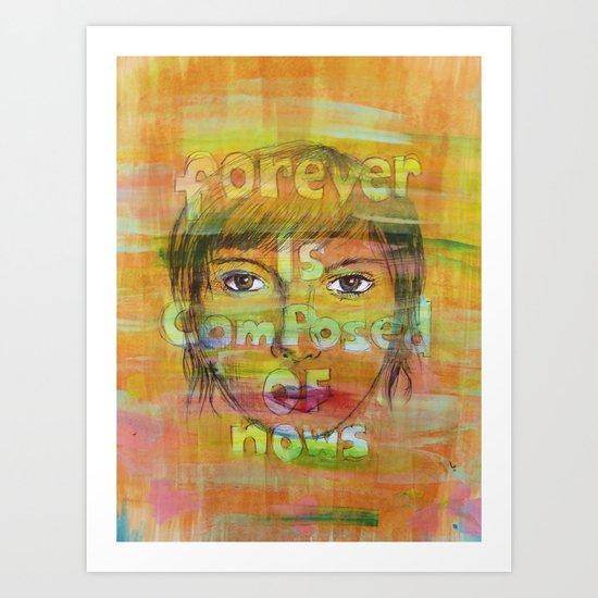 MrS paper towns Art Print
