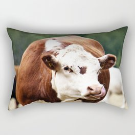 Herefordshire Cow Rectangular Pillow