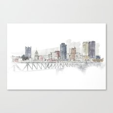 Liberty Bridge Canvas Print