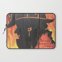 Burnt Pages Laptop Sleeve