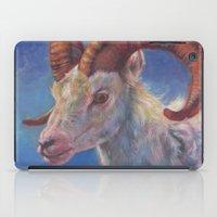 ram iPad Cases featuring Ram by Hanna Virdarson