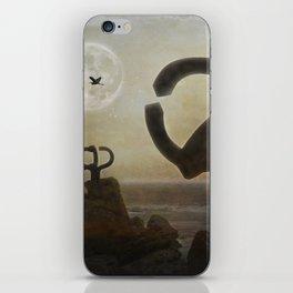 Peine del Viento (Eduardo Chillida) iPhone Skin