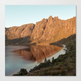 Lake Rhona at Sunrise Canvas Print