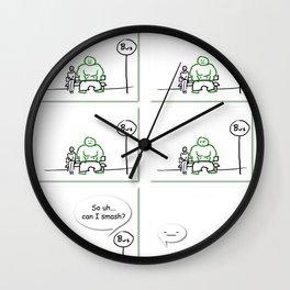 Supers - Smash Wall Clock