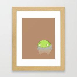 Swamp Toad Framed Art Print