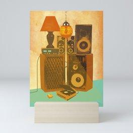 RECORD ROOM Mini Art Print