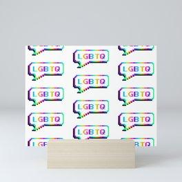 LGBTQ Mini Art Print