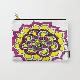 Flower-blam Carry-All Pouch