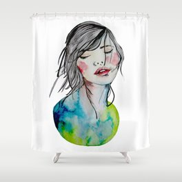 Kindness is an inner desire Shower Curtain