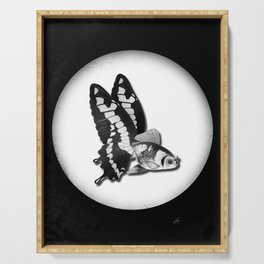 THE BUTTERFLY FISH - James Serving Tray