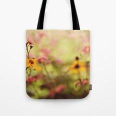Lemon drop Flower box Tote Bag