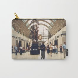 Paris The Orsay Museum Main Hall, 2003 Carry-All Pouch