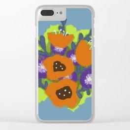 Bouquet #2 Clear iPhone Case