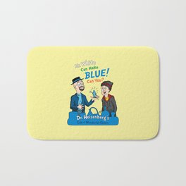 Mr. White Can Make Blue! Bath Mat