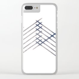 Sticks Clear iPhone Case
