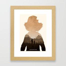 Clementine (TWD) Framed Art Print