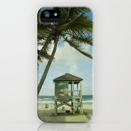 Lifeguard Shack iPhone Case