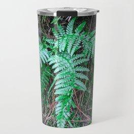 Fern leafs minimal Travel Mug