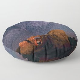 Arches National Park Panorama Floor Pillow