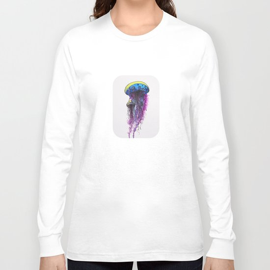 Sketchy Jellyfish Long Sleeve T-shirt