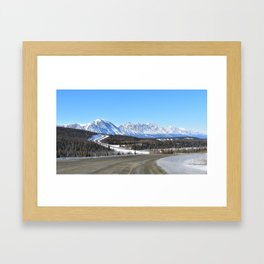 The Road to the North Framed Art Print