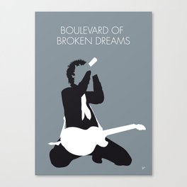 No117 MY American Idiot Minimal Music poster Canvas Print