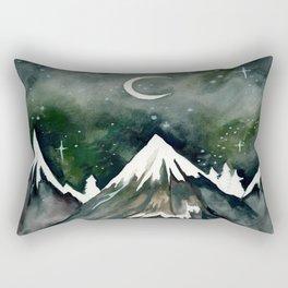 Beneath The Mountain Rectangular Pillow