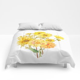 Vintage & Shabby Chic - Late Summer Flowers Comforters