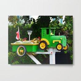 Farmer's Mailbox Metal Print