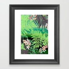 Cool Tranquility Framed Art Print
