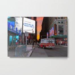 First Responders - NYC Metal Print