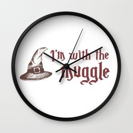 With the Muggle Wall Clock