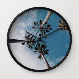Palm Tree Summer Fun Wall Clock