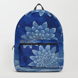 Sleeping girl (watercolor on textured background) Backpack