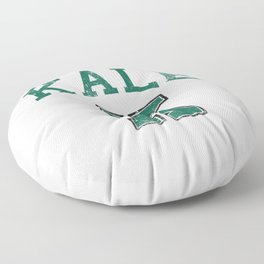 University of Kale Floor Pillow