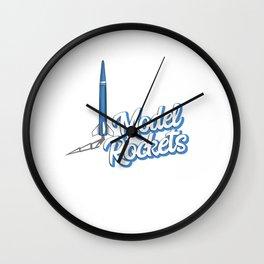 Hobby Model Rocketry Design for a Space Rocket Fan Wall Clock