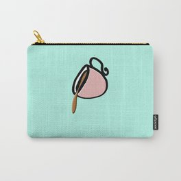 The Coffee Cup: Over Spilled Coffee Carry-All Pouch