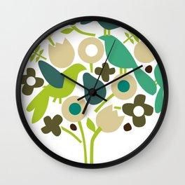 birdy num num Wall Clock