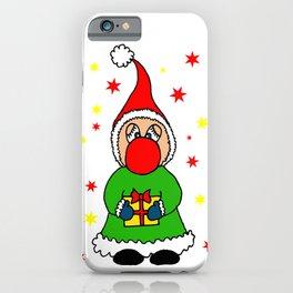Christmas elf iPhone Case