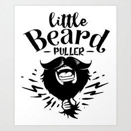 Little Beard Puller Art Print