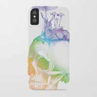 mushroom iPhone & iPod Cases featuring Mushroom by dogooder