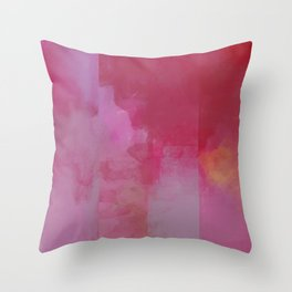 Deconstructed Sunrise Throw Pillow