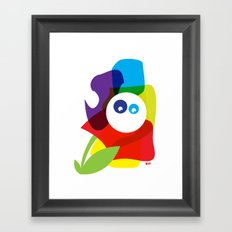 What? Framed Art Print