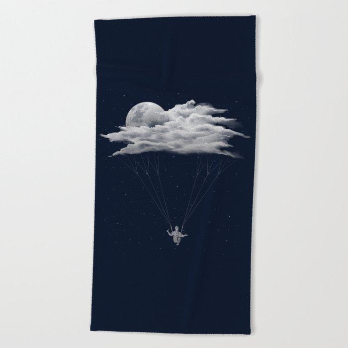 Skydiving Beach Towel