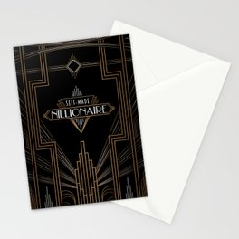Self-Made Nillionaire Stationery Cards
