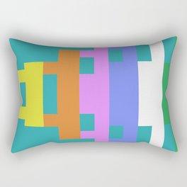 BrickLego Rectangular Pillow