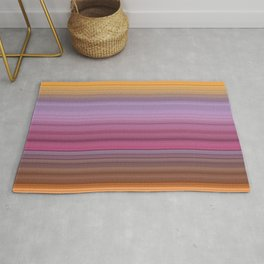 Hibiscus stripes Rug