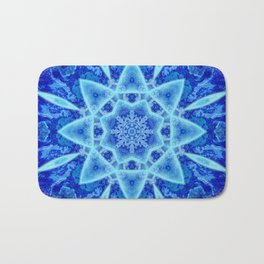 Ice Matrix Mandala Bath Mat